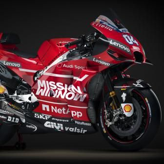 Les images du photo shooting Ducati 2019
