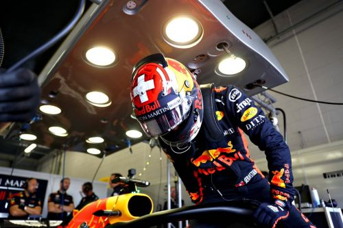 Seb back behind the wheel of a Red Bull!