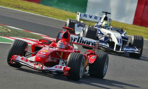 Schumacher's F2004: a true collectors item