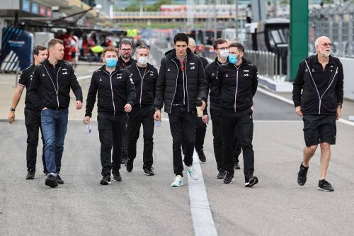 Russian GP: Thursday's build-up in pictures