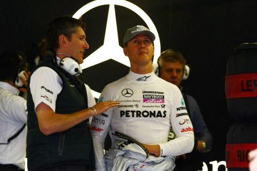 Fry denies Schumacher played 'mind games' with Rosberg