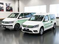 ABT survolte les Volkswagen Caddy et Transporter