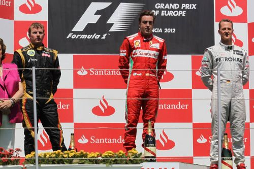 Fernando's home win and Michael's final podium