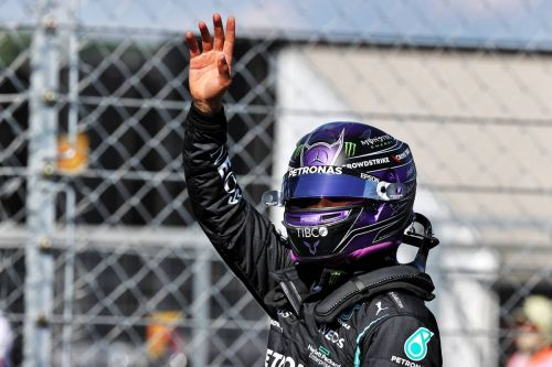 Hamilton says Red Bull top brass sparked booing - Marko disagrees