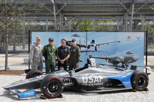 Daly ready to fly with the USAF at Indy