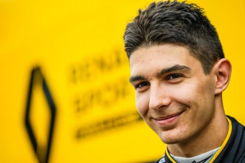 Esteban Ocon s'engage dans une course esport