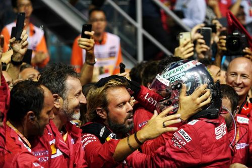 Vettel felt energized in Singapore by letters of support