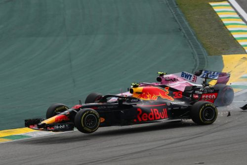 Verstappen lashes out at 'idiot' Ocon, and it gets physical!
