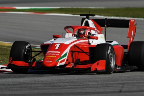 Arthur Leclerc gets first taste of Formula 3