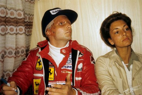 There was no giving up for Niki Lauda