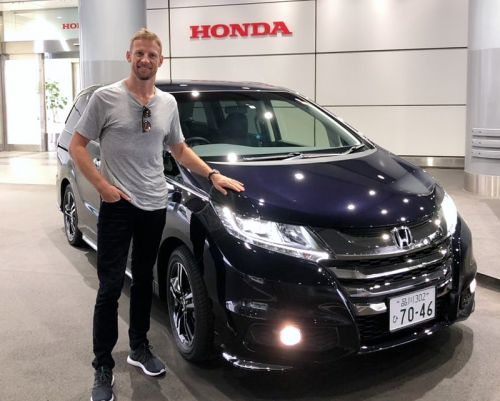 Button's Honda hire car for the Fuji WEC weekend!