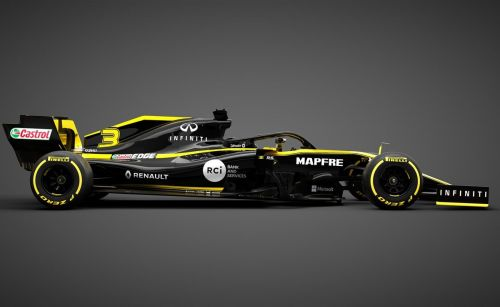Renault F1 showcases 2019 team and livery