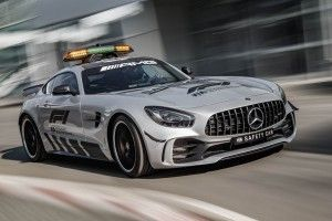 La Mercedes-AMG GT R nouveau safety car de la F1