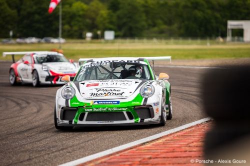 Porsche Carrera Cup France:  Hugo Chevalier remporte la course 1