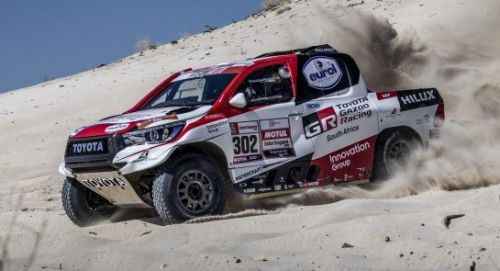 Alonso and Toyota kick start preparations for 2020 Dakar