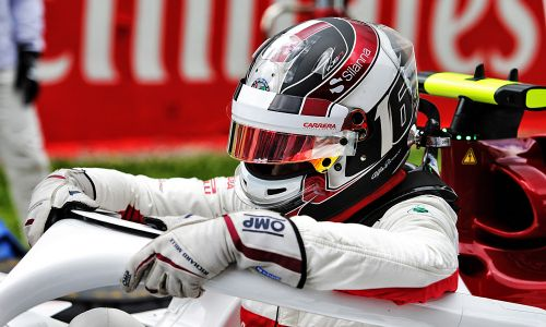 Rookie Leclerc flattered by Senna/Schumacher comparisons