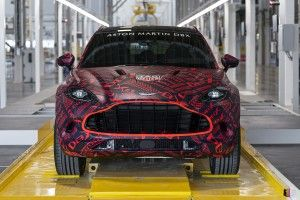 Aston Martin DBX:  la production a commencé !