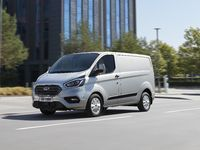 Ford Transit Custom PHEV : l'utilitaire hybride rechargeable