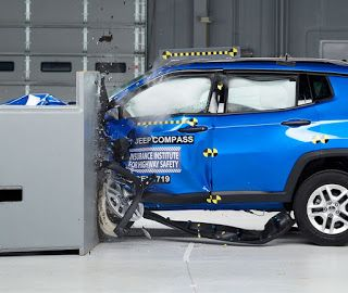 2017 Jeep Compass, l'IIHS lui donne un Top Safety Pick