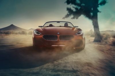 Pebble Beach 2017:  les photos officielles du BMW Concept Z4