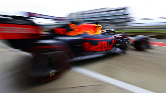 Gallery: Perez's first run with Red Bull at Silverstone