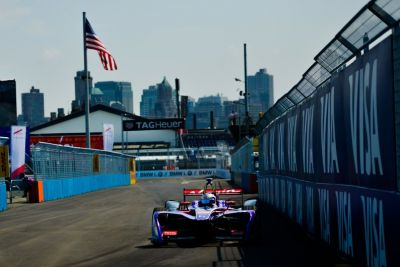 Formule E:  Sam Bird s'impose à New York !