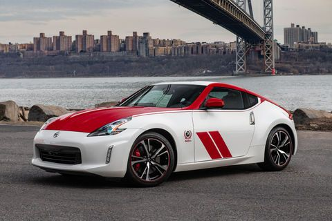 New York:  Nissan 370Z 50th Anniversary Edition