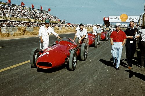 Jean Behra - The man with the checkered helmet