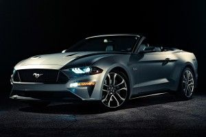 Ford Mustang Cabriolet (2017):  restylée !