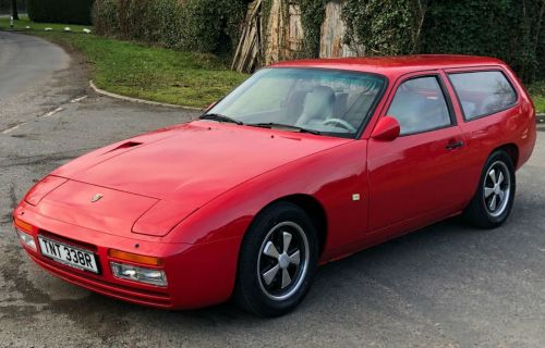 Porsche 924 : une rarissime version Shooting Brake en vente