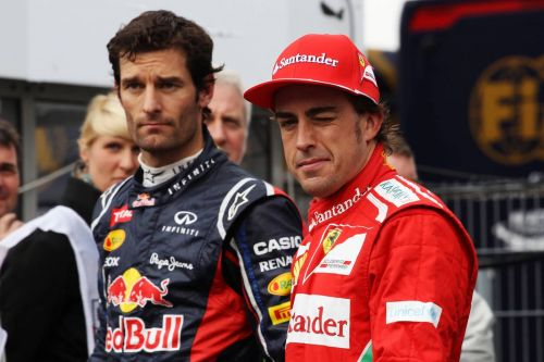 Webber questions whether Alonso is still 'as fast and brave'