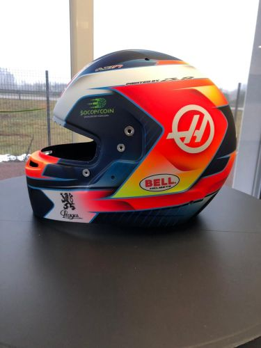 Grosjean's lid gets a makeover for 2019