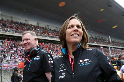 'Fewer races would increase demand,' suggests Claire Williams