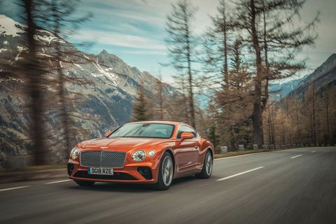 Pikes Peak:  Bentley s'engage avec la Continental GT