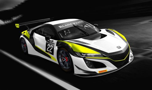 Button revives world championship colors for Blancpain GT series