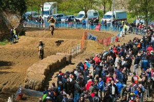 Moto-cross: Anthony Thomas dans le top cinq au Quesnoy