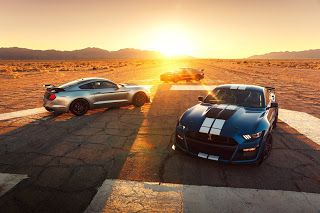 Détroit 2019, 2020 Ford Mustang Shelby GT500