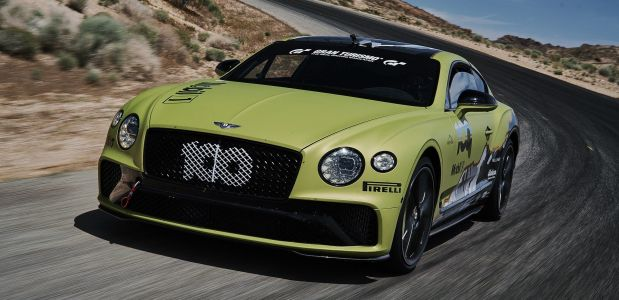 Bentley Continental GT:  tentative de record à Pikes Peak