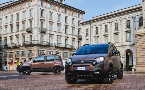 La Fiat Panda City Cross Trussardi joue la carte chic