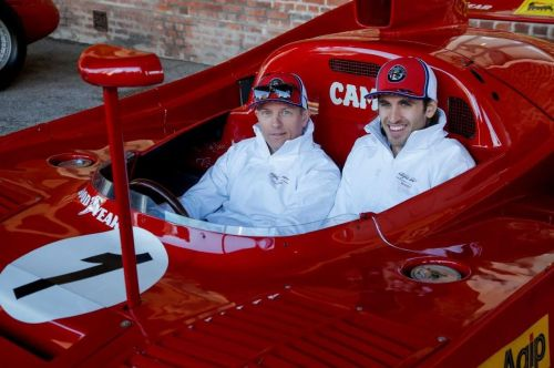 Raikkonen and Giovinazzi sample Alfa Romeo's racing heritage