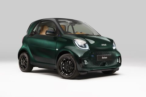 Smart EQ fortwo coupé Racing Green Edition