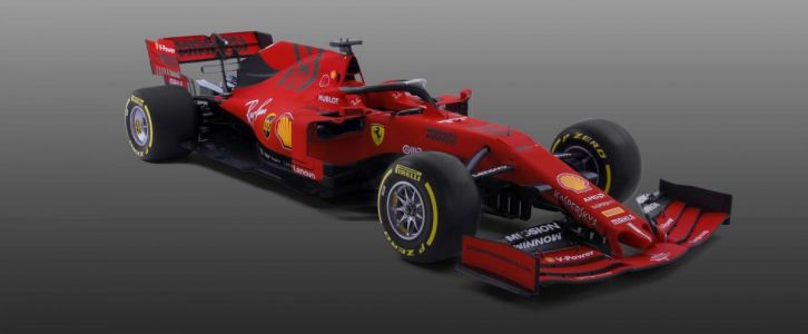 Scuderia Ferrari reveals striking matte red 2019 SF90!