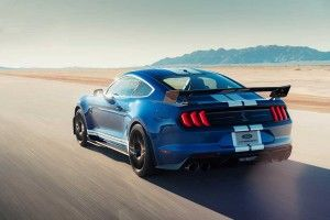 La Ford Mustang Shelby GT500 (2019) en action !