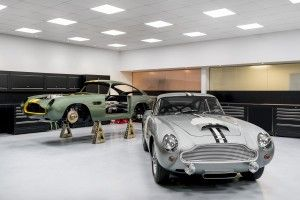 Aston Martin:  la DB4 GT est en production