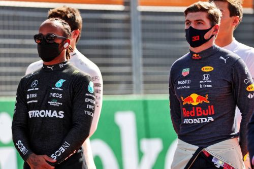Hamilton hints at 'intense' first title fight weighing on Verstappen