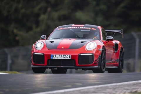 La Porsche 911 GT2 RS MR nouvelle reine du Ring