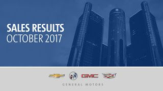 Ventes de GM aux USA, octobre 2017