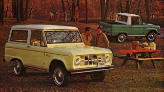 Un Ford Bronco pick-up dans les cartons ?