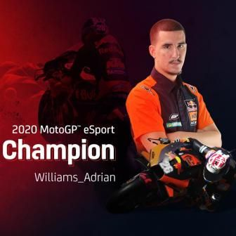 Williams Adrian, Champion eSport MotoGP™ 2020 !