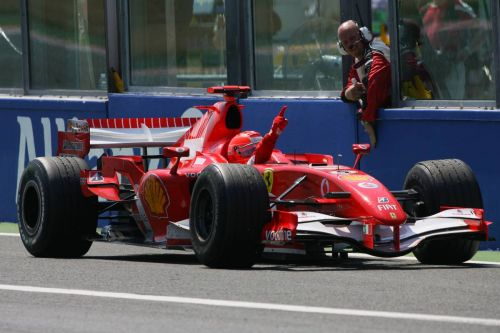 When Michael Schumacher was King of France